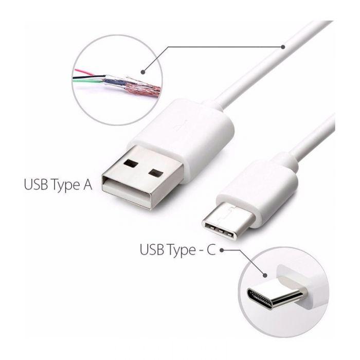 Resultado de imagen para Cable Cargar Usb A Tipo C Huawei P20 Lg G7 Nexus Samsung