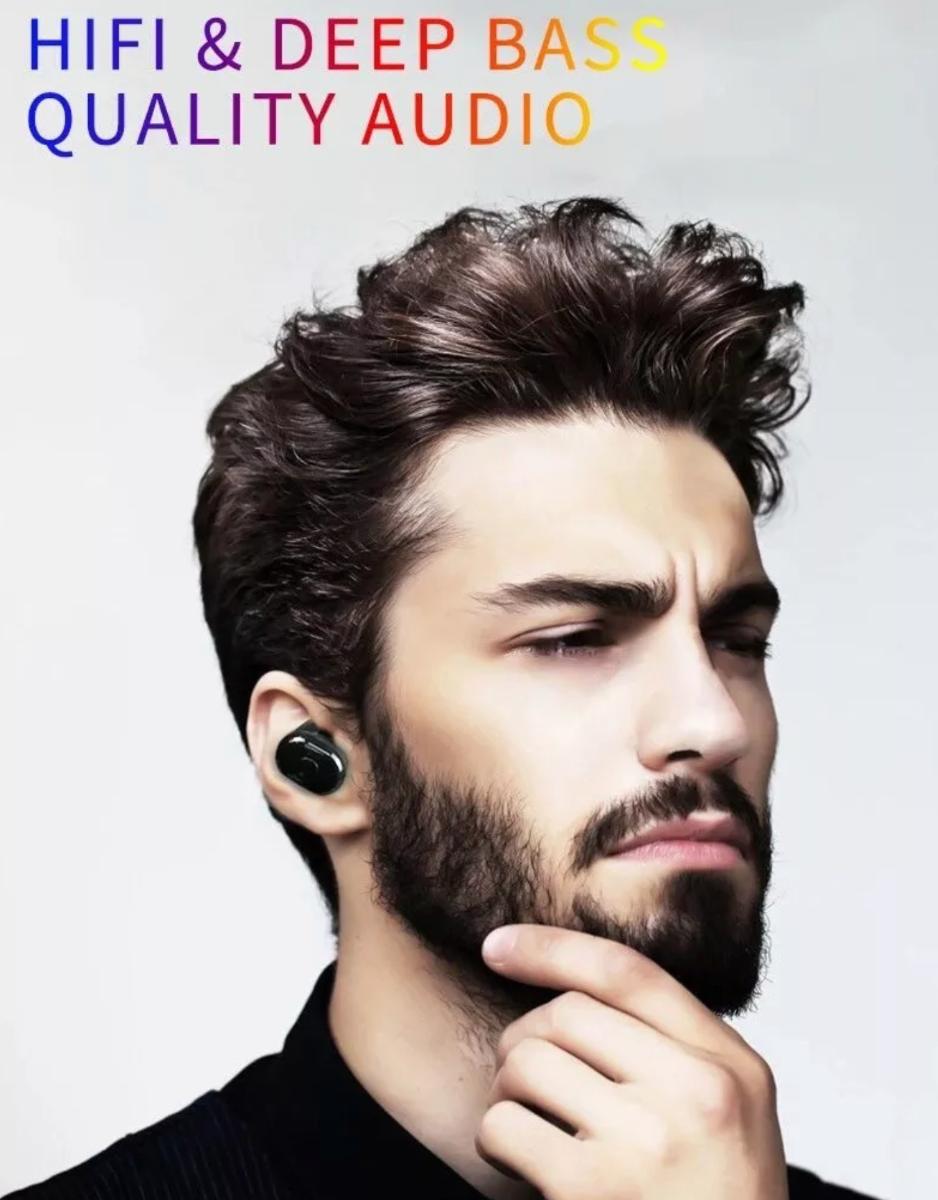 Audifonos Bluetooth 5.0 Inalambricos Tws Con Base De Carga